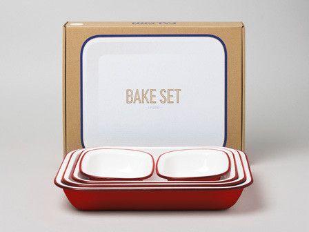 5-piece enamelware bake set £54.99 - £64.99