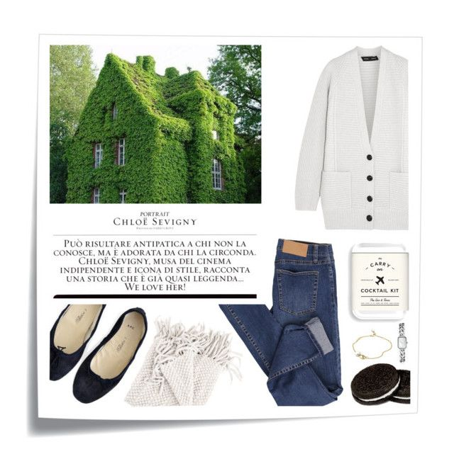 English country wkd by kelly-m-o on Polyvore featuring polyvore, fashion, style, Proenza Schouler, Cheap Monday, A.P.C., Chanel, Georg Jensen, W&P Design, Post-It, Chloé, country, denim, weekend, pants and outfits