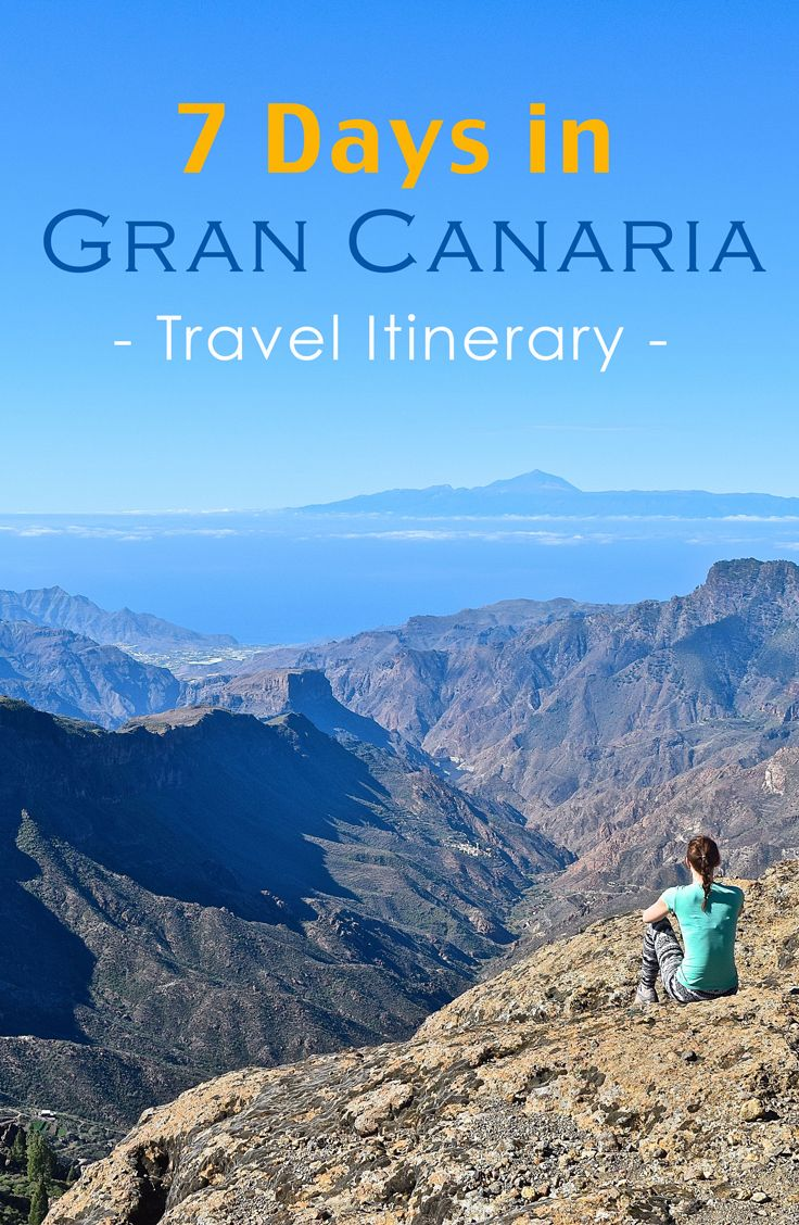7 Days in Gran Canaria - Our Travel Itinerary: http://www.myhammocktime.com/2016/01/17/7-days-in-gran-canaria-travel-itinerary/