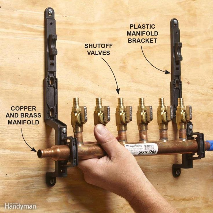 30 best pex plumbing images on pinterest pex plumbing for Is pex pipe better than copper