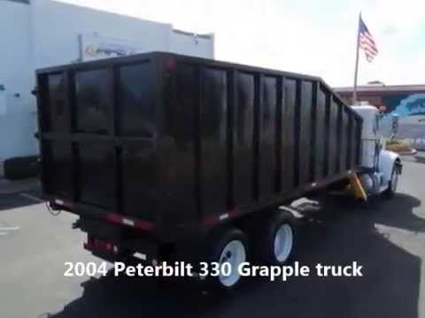 2004 Peterbilt 330 Grapple truck for sale at EquipmentReady, Price: $59,900.00  On-line marketplace for used commercial trucks, trailers and heavy equipment. http://equipmentready.com/sale/trucks #truck