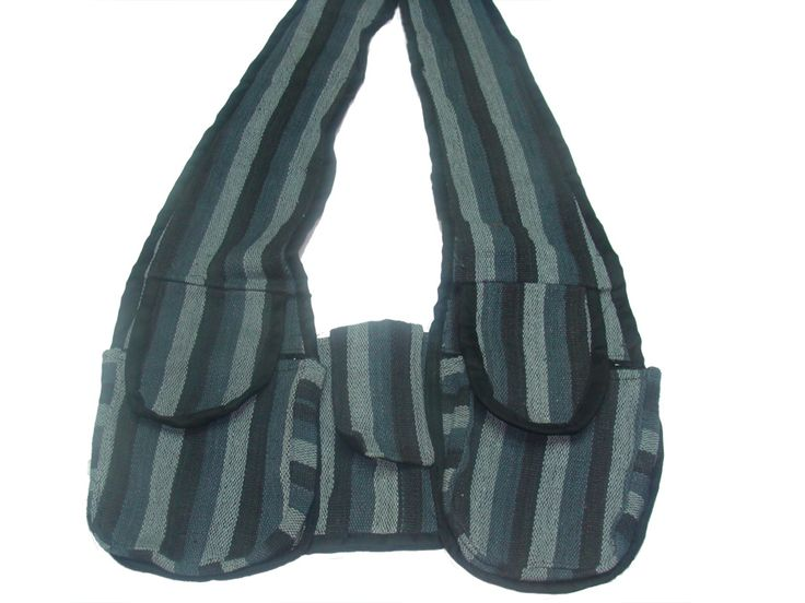 Τσάντα αντρική έθνικ πέταλο με πολλές θήκες