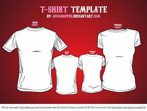 Download T Shirt Template Illustrator Best Of Free Vector T Shirt Template Free T Shirt Design T Shirt Design Template Shirt Template