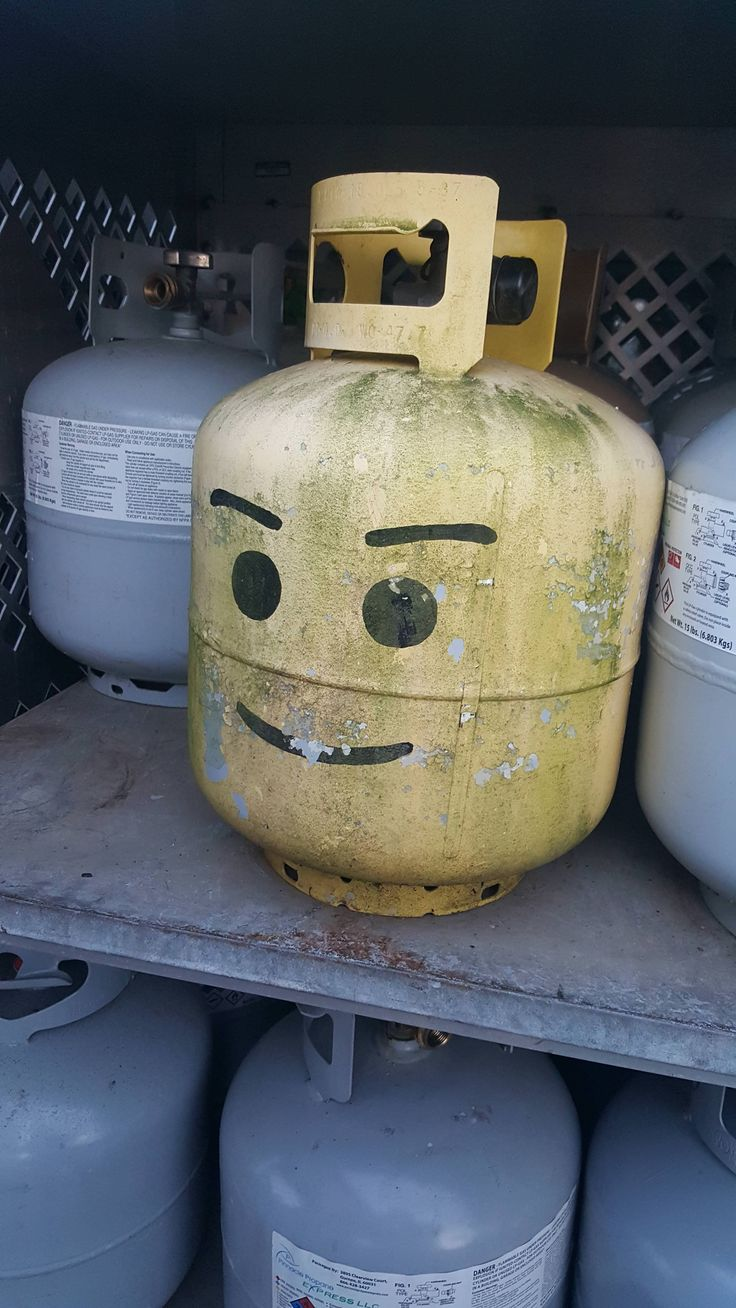 A propane tank I exchanged today at work