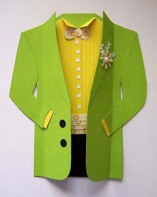 Wow! Now this is a great challenge!  This green jacket needs a leprachaun