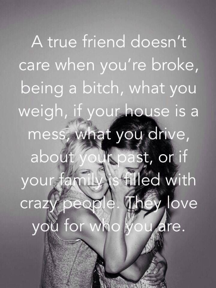True friend #friendship quote