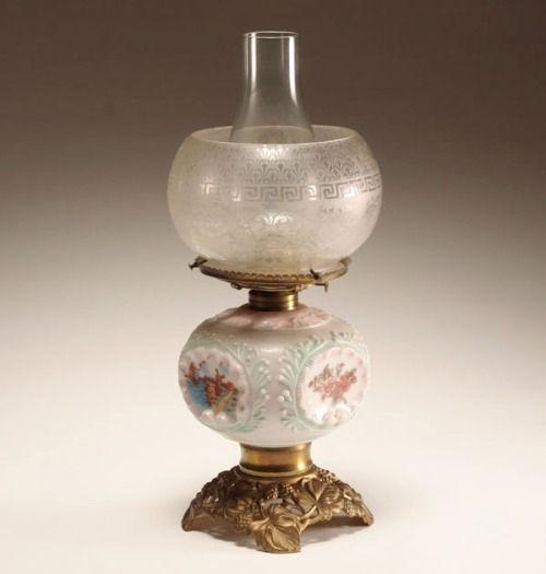 186 best Victorian oil lamps images on Pinterest | Antique ...