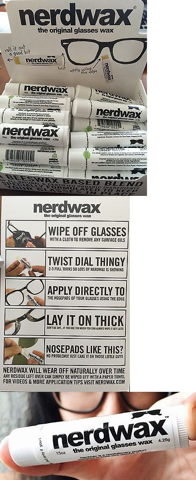 4094c71d66b Eyeglass Straps and Cords 31287  Nerdwax -- Stop Slipping Glasses -- As  Seen On Shark Tank -  BUY IT NOW ONLY   12.67 on eBay!