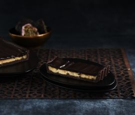 Chocolate Passionfruit Tart