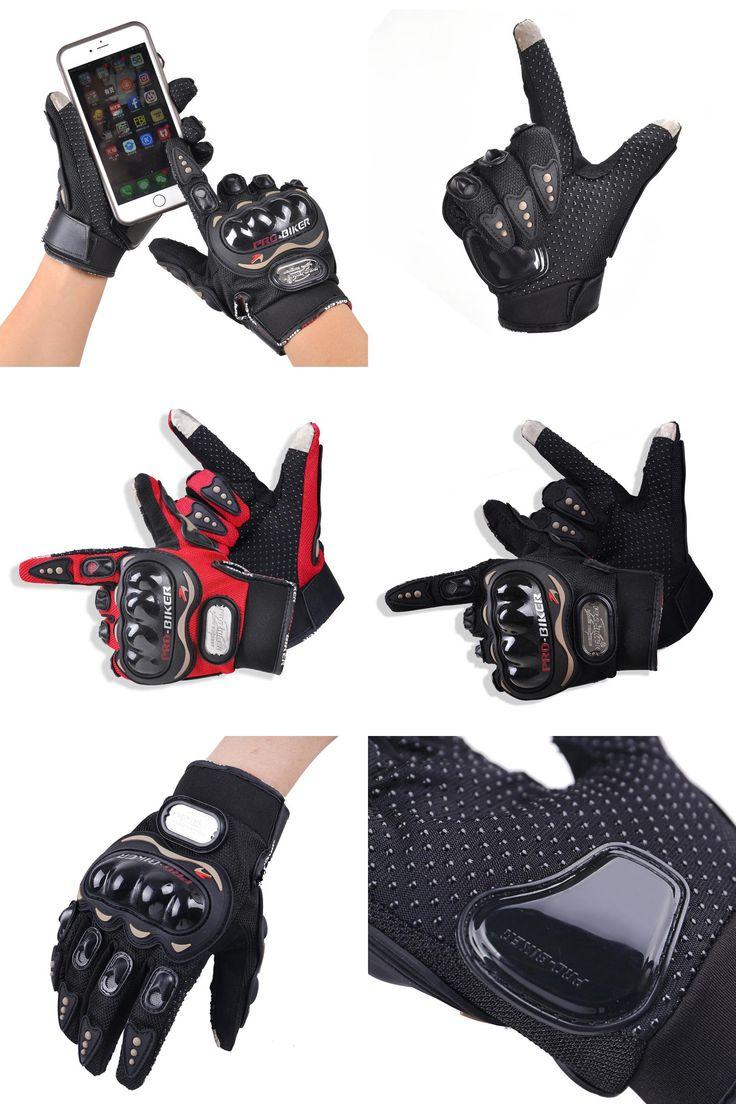 [Visit to Buy] Pro-biker motorcycle gloves summer touch screen motocicleta gloves motocross luvas Racing guantes de moto Motorbike Gloves  #Advertisement