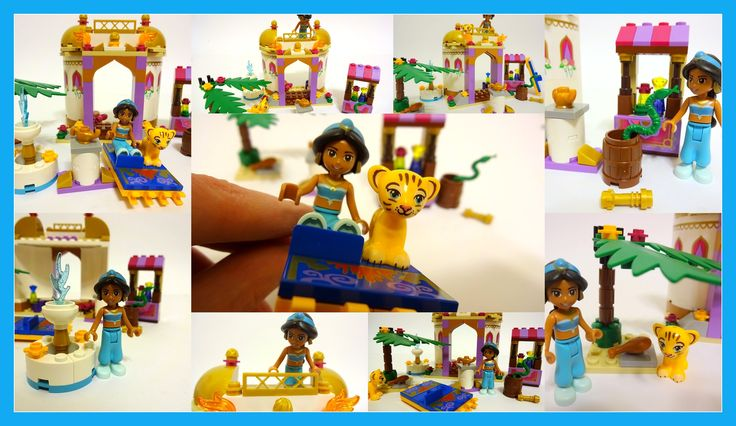 Lego DisneyTM Princess 41061 Jasmine's Exotic Palace - Unboxing, Speed B...