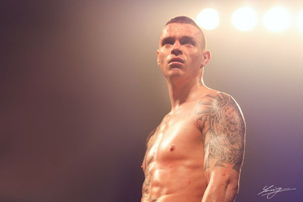 Fight Night - photos by Lukáš Smiešny, via Behance