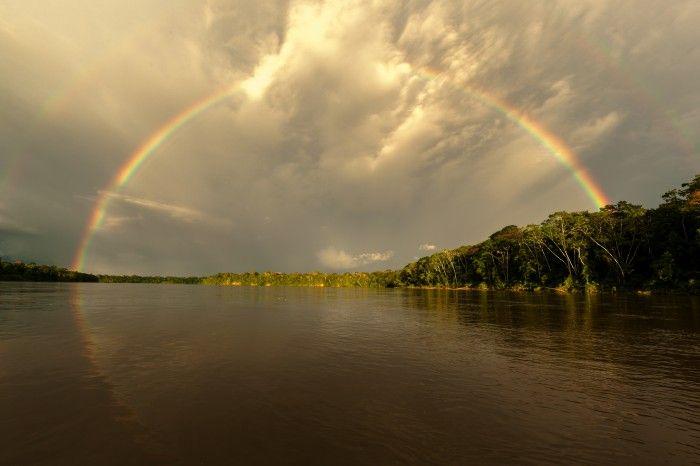 Amazon Double Rainbow by Edward Lousley | onemillionphotographers.com