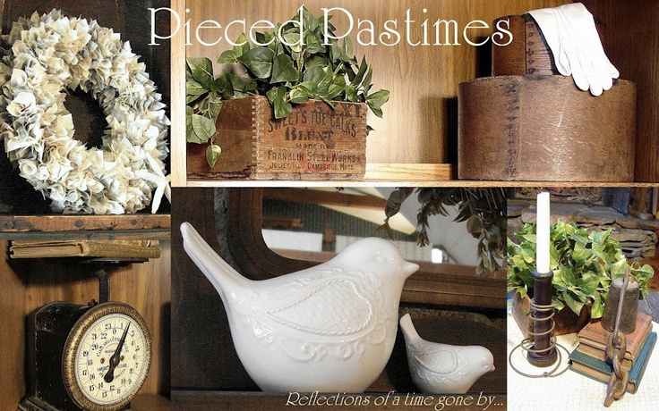 Pieced Pastimes: she has some great tutorials, DIY and makeover ideas on her blog