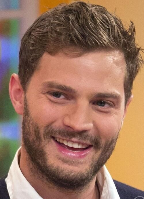 The gorgeous Jamie Dornan! His smile is life