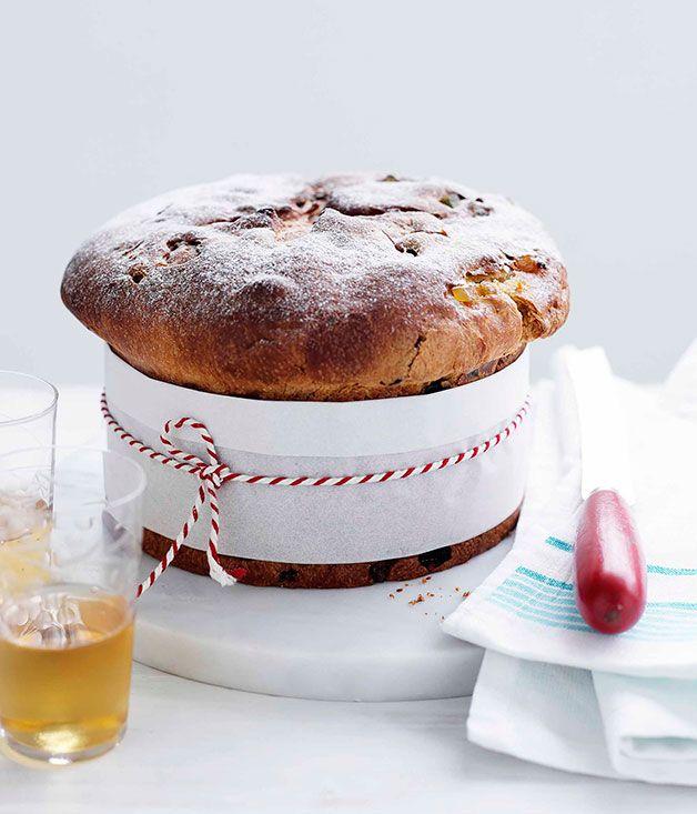 Australian Gourmet Traveller Italian Christmas dessert recipe for panettone.