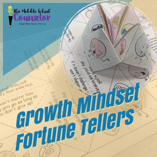 Growth Mindset Fortune Tellers