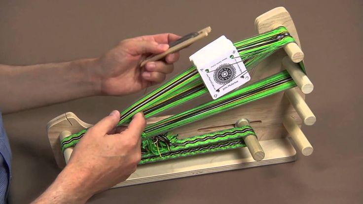 Tablet Weaving Made Easy - YouTube