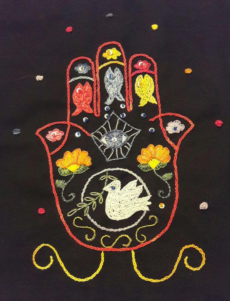#Hamsa #Hand of Miriam.