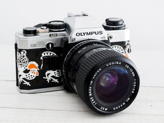 Olympus OM-10 functional vintage 35 mm film camera by FolkCamera