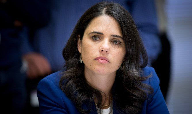 "Shaked: we are talking about people who love this land Residents of Amon decided not to leave it on their own, and I respect that Attorney Ayelet Shaked (""Jewish Home"") spoke about the demolition of Amon on Saturday night in the Israeli TV show «Meet the Newspapers»."