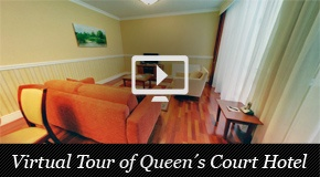 Hotel Virtual Tour @  Queen's Court Hotel & Residence, a new luxury hotel in the city-center of Budapest with onl