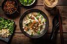 Ginger Chicken Jook (Rice Porridge) Recipe - Chowhound