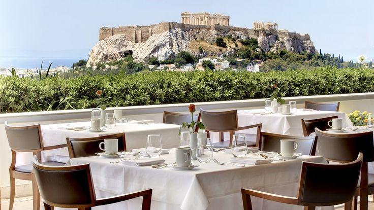 Hotel Grande Bretagne   Breakfast in Athens   http://georgiapapadon.com/