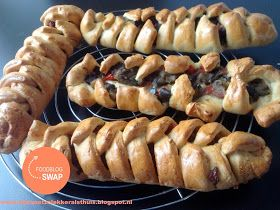 bijna net zo lekker als thuis: Içli örgü ekmek - Turkse zachte gevlochten en gevulde broodjes (foodblogswap)