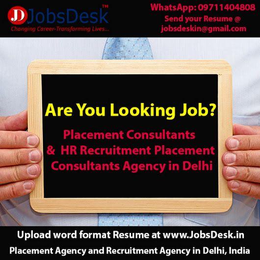 14 best Consultancy in Delhi images on Pinterest Desks, Private - best format to send resume