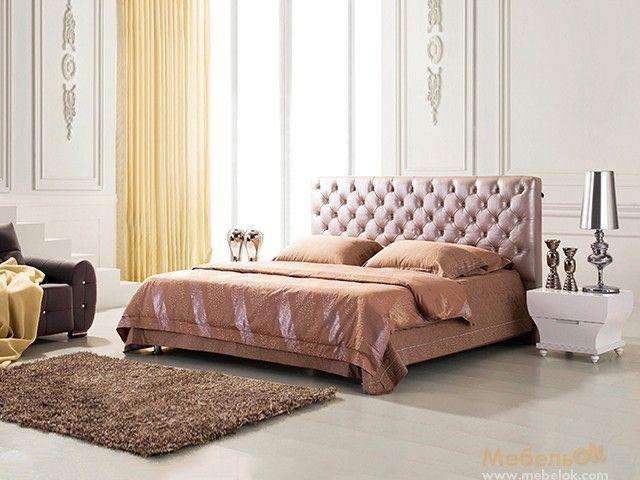 Двуспальная кровать Деко 200х200 изготовлена для истинных ценителей комфортного отдыха и роскошной обстановки. Более детальную информацию Вы можете получить на сайте интернет-магазина МебельОк.