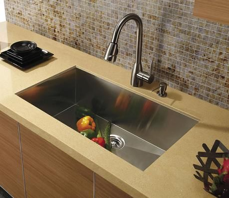 A Simple Guide To The Pros And Cons Of Zero Radius Kitchen Sinks Faucets In 2018 Pinterest Sink Steel