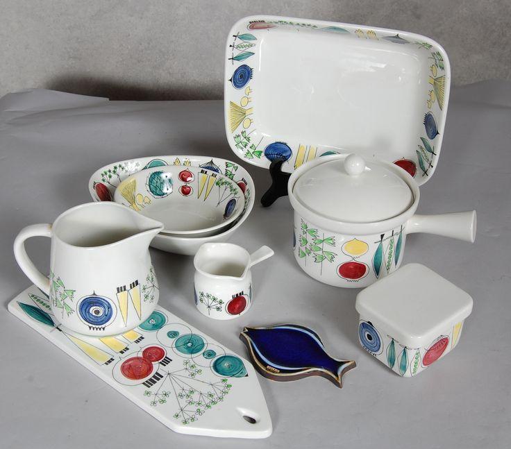 Rörstrand Sweden 'Picknick' pattern designed by Marianne Westman.