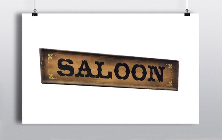 We have a selection of Western Style signs here at prop house. Salloon, General Store, Ranch etc. http://www.prophouse.ie/portfolio/signage/