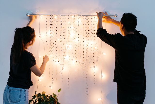 UO DIY: Make Your Own Sparkling Wall Hanging - Urban Outfitters - Blog