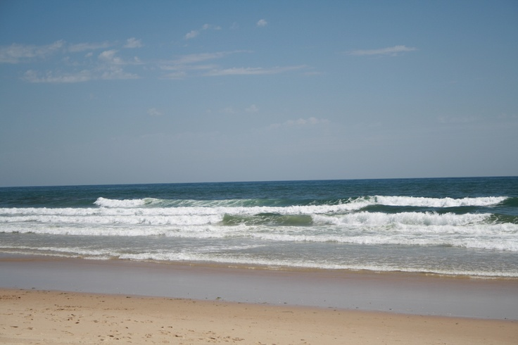 stunning natural beach