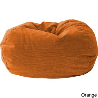 Get Off Now On Gold Medal Bean Bags 30010559108 Medium Amigo Corduroy Suede Beanbag Tween Size Orange