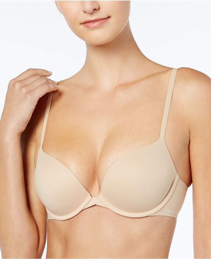 c26c5edc002 Calvin Klein Perfectly Fit Plunge Push Up Bra QF1120  Perfectly Fit Calvin