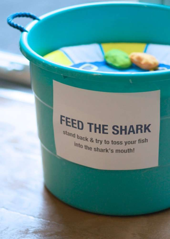 Party Game: Feed The Shark (Kind of a kiddie version of Cornhole)