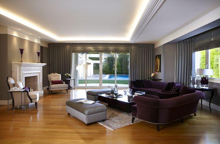 Sissy Raptopoulou-Interior designer single house in Varkiza -Greece living room