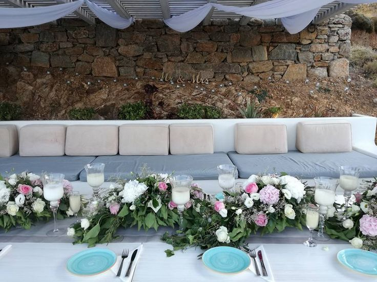 The sunsets of August in #Mykonos island is just the perfect time to perform your #wedding. Pick the right spot with the suggestions of the experienced staff of Mykonos Catering Services!