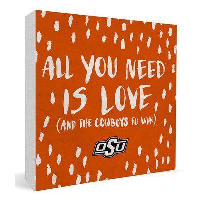 Paulson Designs NCAA Shelf Decor NCAA: Oklahoma State