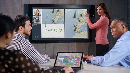 Microsoft Surface Hub | Collaboration devices (saw one in action last week & it was amazing!)