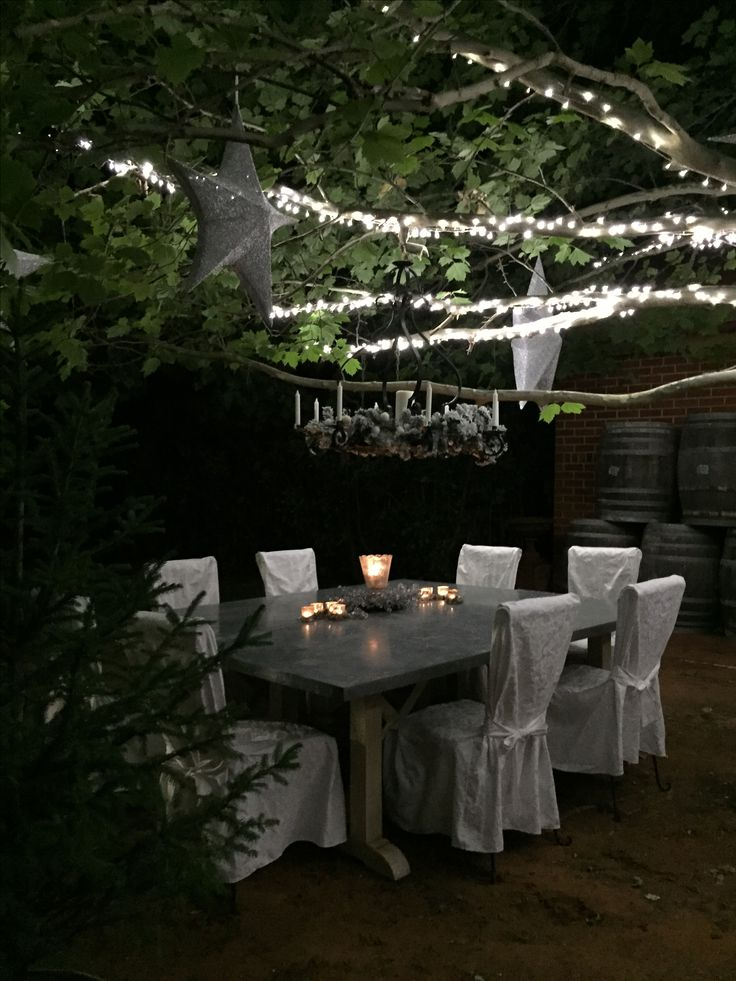 Pin by Pleasantrees on SiLent NiGht  Table decorations