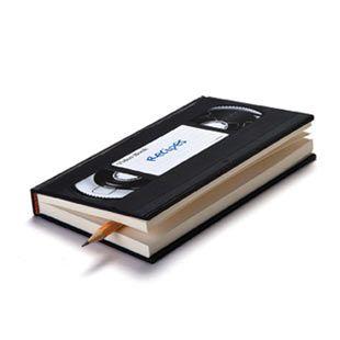 Video notebook: Vhsnotebook, Idea, Gift, Vhs Tape, Vhs Notebooks, Note Books, Videos Tape, Design, Videos Notebooks