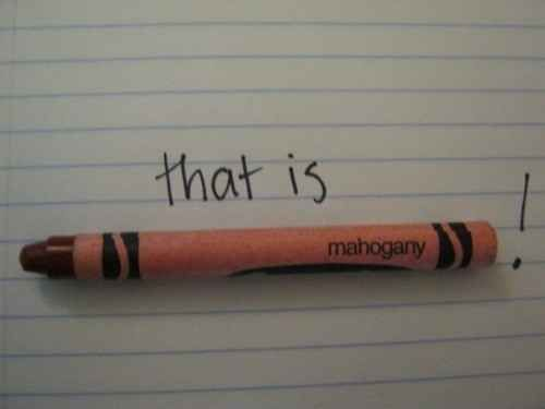 The color of this crayon: buzzfeed hilarious things about the hunger games to all fans