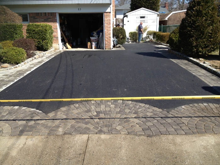 30 best asphalt driveways images on pinterest asphalt for Bleaching concrete driveway
