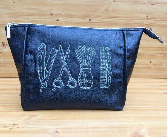 Men's toiletry bag  men's wash bag  dopp kit bag