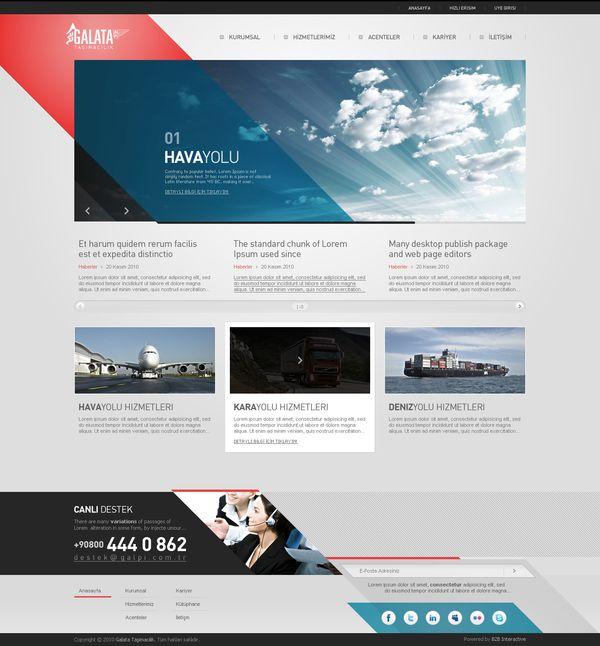 Galata by Fatih Baytekin, via #Behance #Webdesign