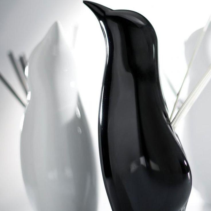 Millefiori Air Design – aroma difuzér Tučňák, černý